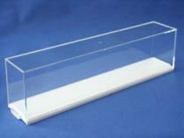 Gabriel 1003502 Vitrine H0 Spurrille 350mm weiß