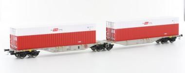 Mehano 58864 ÖBB Containerwagen 6-achs Ep.6