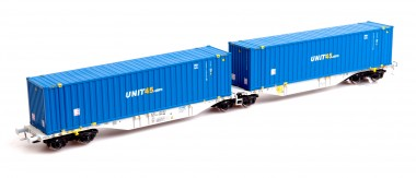 Mehano 58968 AAE Containerwagen Sggmrss'90 Ep.6
