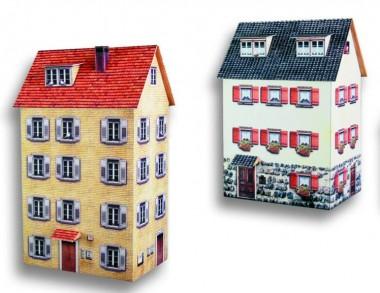 Heki 10040 2 Stadt-Reihenhäuser