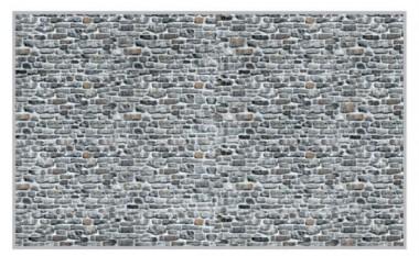 Heki 14001 Bruchsteinmauer 3 Bogen