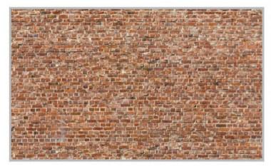 Heki 14002 Ziegelsteinmauer 3 Bogen