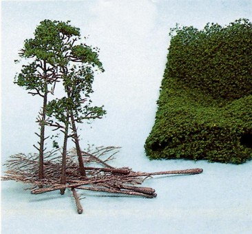 Heki 1534 Bäume im Bausatz