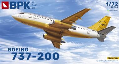 BPK 7206 Boeing 737-200 Lufthansa