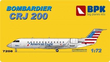 BPK 7208 Canadair CRJ-200 Regional Jet