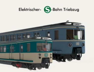 ZEITGEIST-Models 441113 DB S-Bahn Triebzug BR 471 Ep.4
