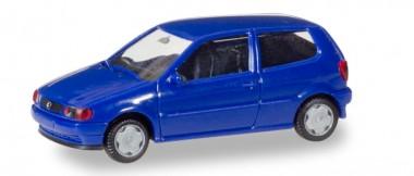 Herpa 012140-005 MiniKit VW Polo 2t ultramarinblau