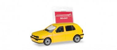 Herpa 012355-007 MiniKit VW Golf III (4t) gelb