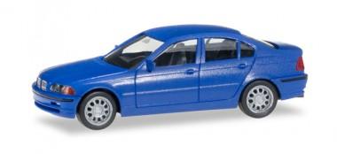 Herpa 012416-006 MiniKit BMW 3er (E46) Lim. blau