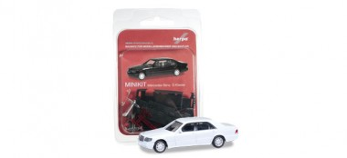 Herpa 012751-002 MiniKit MB S-Klasse (W140) weiß