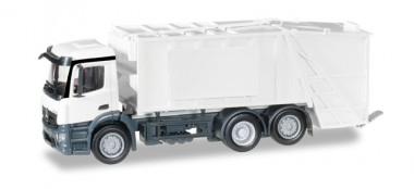Herpa 012928 MiniKit MB Antos Pressmüllwagen weiß