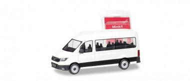 Herpa 012935 MiniKit MAN TGE Bus weiß
