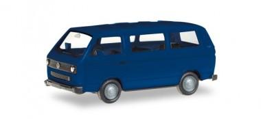 Herpa 013093-002 MiniKit VW T3a Bus ultramarinblau