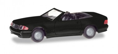 Herpa 013222 MiniKit MB 500 SL (R129) schwarz
