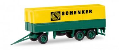 Herpa 013338 MiniKit Planen-Hänger Schenker