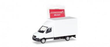 Herpa 013437 Minikit MB Sprinter m. Kofferaufbau