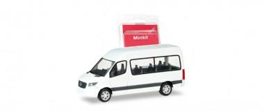 Herpa 013468 Minikit MB Sprinter Bus HD weiß