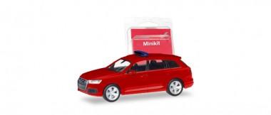 Herpa 013536 Minikit Audi Q7 rot