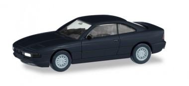 Herpa 013734 MiniKit: BMW 850i (E31) schwarz