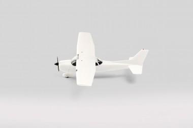 Herpa 013789 MiniKit Sportflugzeug weiß