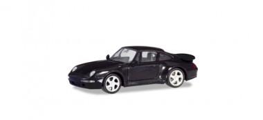 Herpa 021890-002 Porsche 911 (993) Turbo schwarz