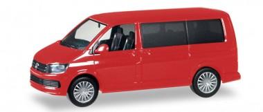 Herpa 028738-002 VW T6 Multivan kirschrot
