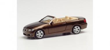 Herpa 033763-002 BMW 3er Cabrio (E93) braun-met.
