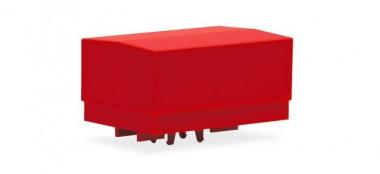 Herpa 053877-002 Zubehör: Ballastpritschen groß rot