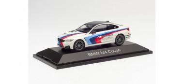 Herpa 071604 BMW M4 Coupé Safety Car (weiß)