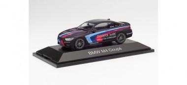 Herpa 071611 BMW M4 Coupé Safety Car (schwarz)