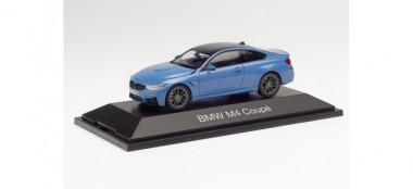 Herpa 071628 BMW M4 Coupé Safety Car Laguna seca blau