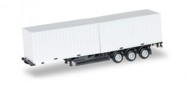 Herpa 076494-002 Krone 2x 20ft Container-Auflieger