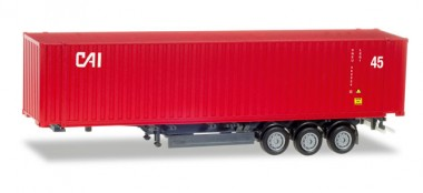 Herpa 076791 45ft Container-Auflieger CAI