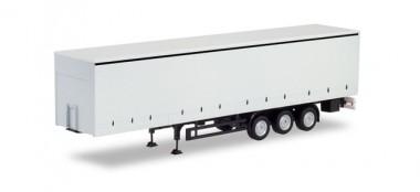 Herpa 076944 GP-Auflieger mit Bordwänden weiß