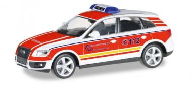 Herpa 092661 Audi Q5 ELW Werksfeuerwehr Salzgitter