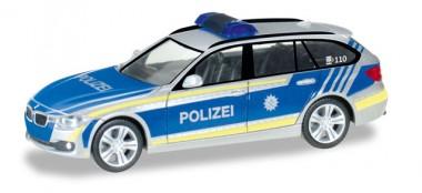 Herpa 092746 BMW 3er Touring Polizei Bayern