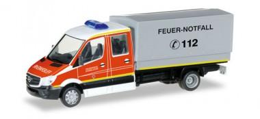 Herpa 092791 MB Sprinter DoKa MZF FW Düsseldorf