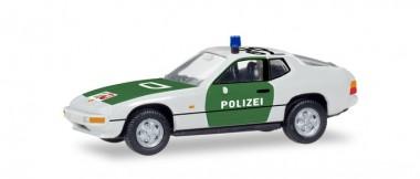 Herpa 094078 Porsche 924 Polizei Nordrhein-Westfalen