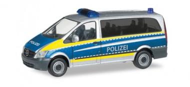 Herpa 094726 MB Vito Polizei Saarland