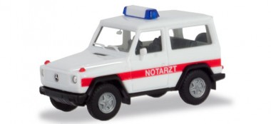 Herpa 094818 MB G-Modell Notarzt