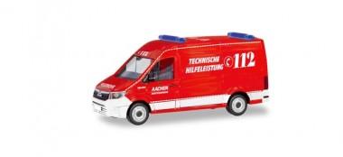 Herpa 094900 MAN TGE Kasten HD FW Aachen