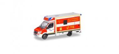 Herpa 094962 MB Sprinter´13 Fahrtec-RTW Heinsberg