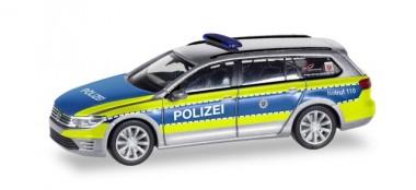Herpa 095020 VW Passat GTE Polizei Hessen