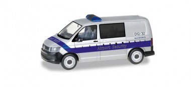 Herpa 095235 VW T6 Bus Fraport / Airport Security