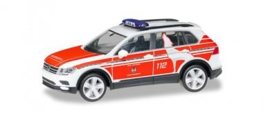 Herpa 095273 VW Tiguan Notarzt FW Wolfsburg