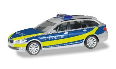 Herpa 095600 BMW 5er Touring (F11) Bundesplolizei