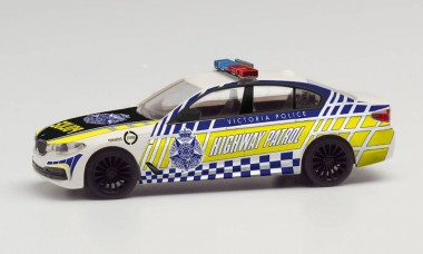 Herpa 095655 BMW 5er Limo Victoria Highway Patrol