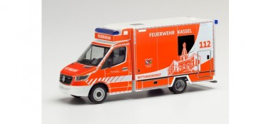 Herpa 095945 MB Sprinter´18 Fahrtec RTW FW Kassel
