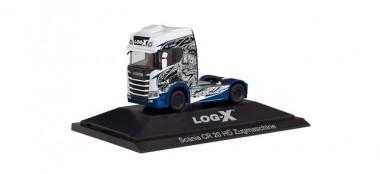 Herpa 111034 Scania CR20 HD SZM Log-X / No Limit