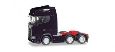 Herpa 307543-002 Scania CS20 HD 6x2 SZM schwarz
